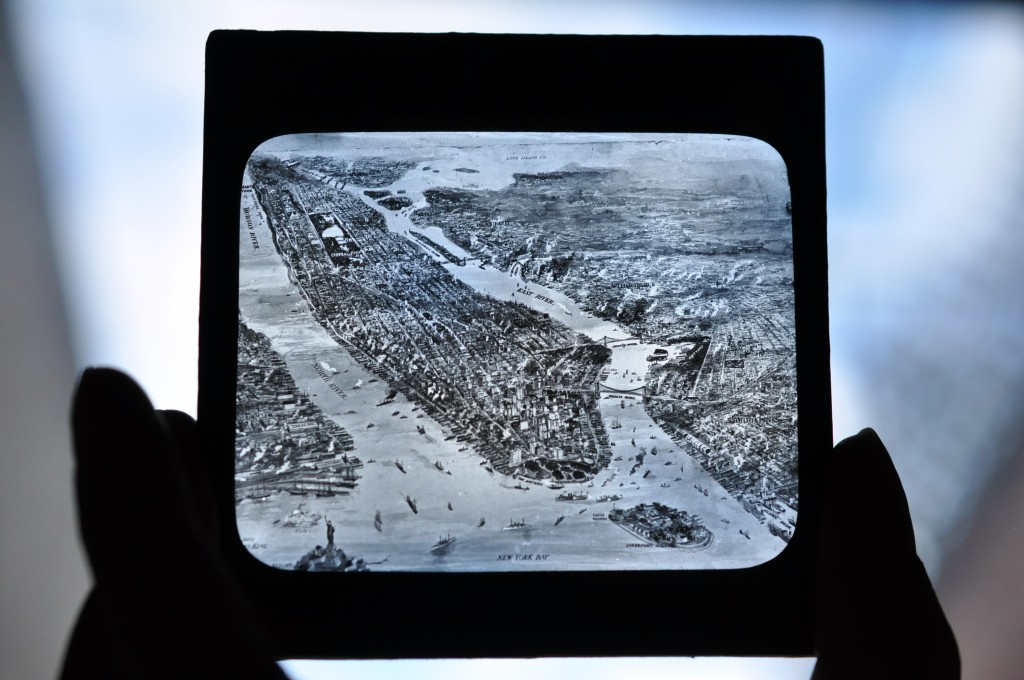 Glass Photographic Plate New York