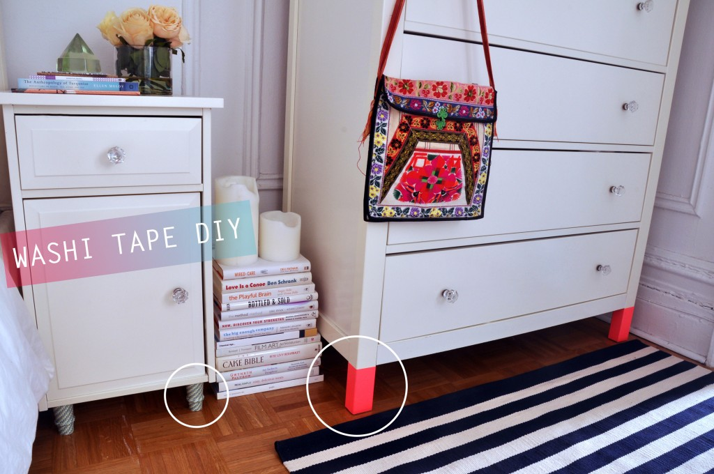 Washi Tape Furniture